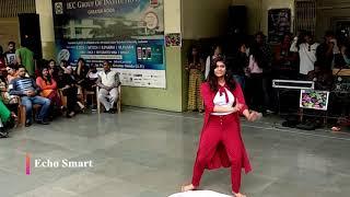 Great Dance Performance- Female @ IEC Innovision 2k19 #LiveTheBeat #echosmart