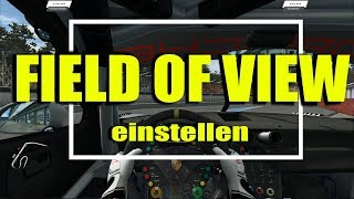 Field of View (FOV) richtig einstellen | Raceroom