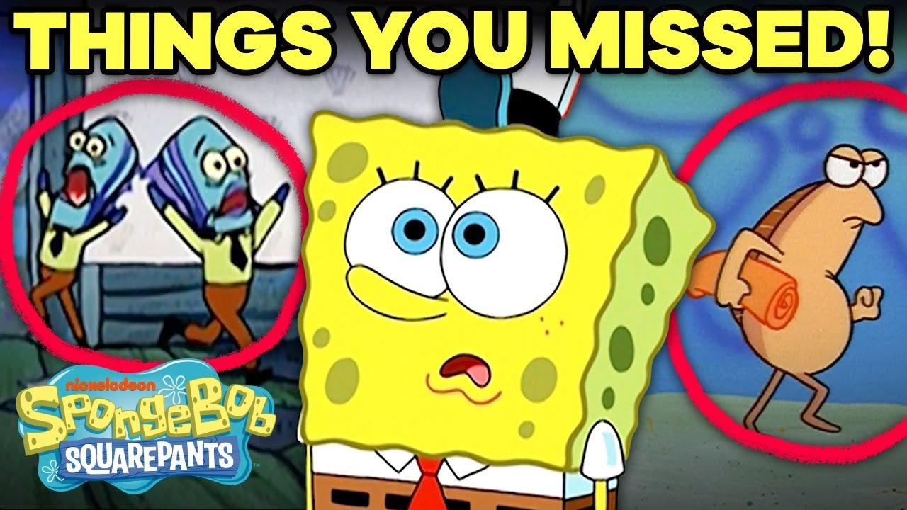 EVEN MORE Background Details You Never Noticed! 👀 SpongeBob
