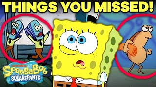 EVEN MORE Background Details You Never Noticed!  SpongeBob