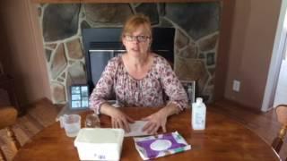 DYI hemorrhoid/feminine hygiene wipes