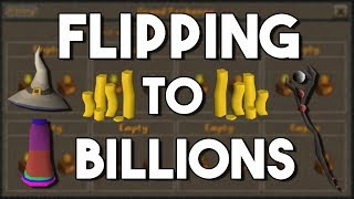 Flipping to billions in oldschool runescape (50m to 1b) episode #3 [osrs]