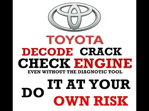 How To Diagnose Toyota 16 Pin OBD Socket even without Diagnostic scanner