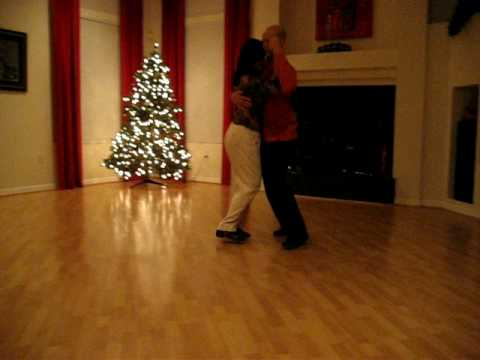 """David Chayes y Thuy Carroll dance a Tango Milonga  """"Rumbita Candombe"""" by Francisco Canaro"""