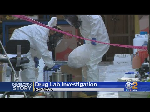 Drug Lab Discovered In Monrovia Home Prompts Hazmat Callout