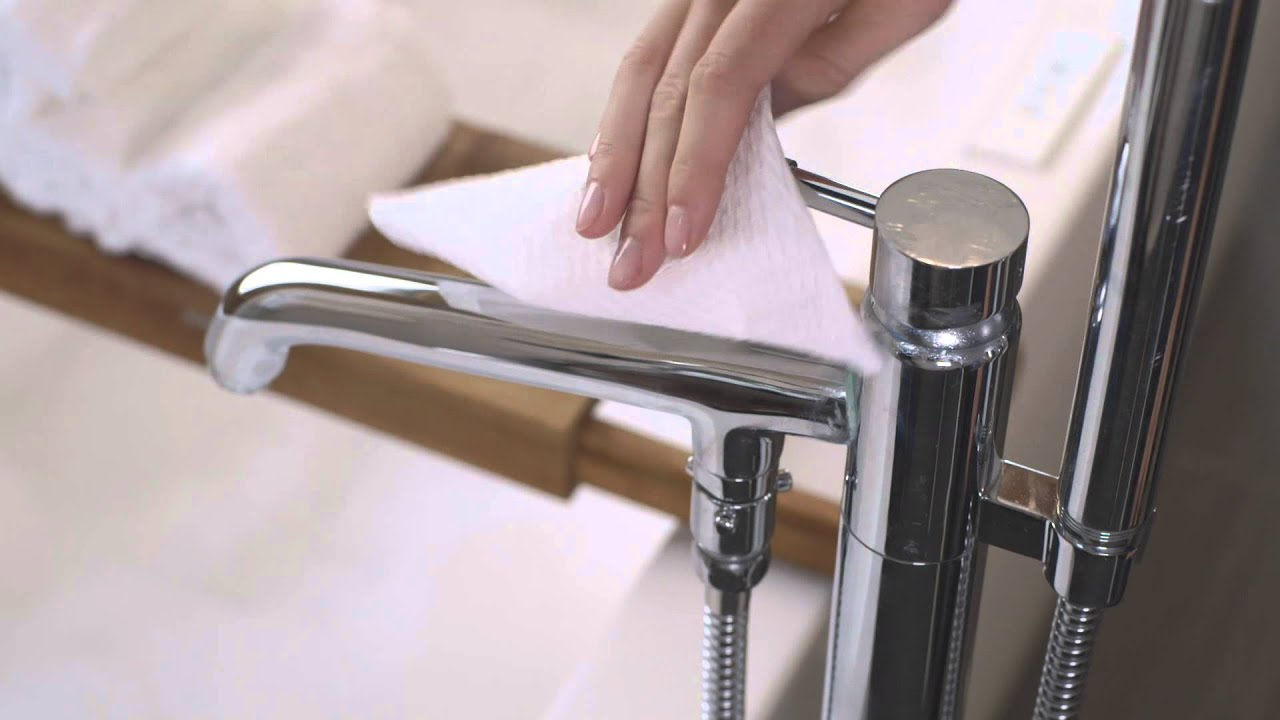 Clean Chrome Faucets And Fixtures Viva Towels