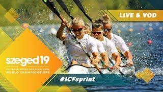 2019 ICF Canoe Sprint & Paracanoe World Championships Szeged Hungary / D3: B & A Finals, Semis