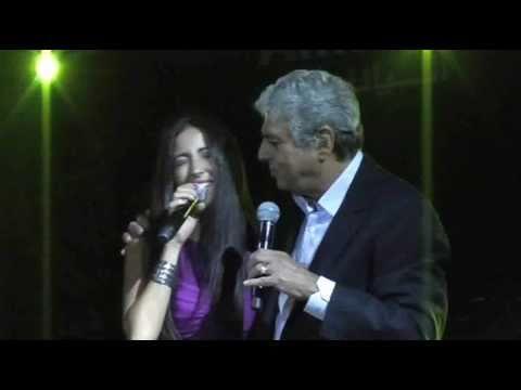 Enrico Macias et Lynda Thalie en Égypte