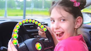We are in the Car Wheels On The Bus Song   Children's Songs by Naflandia