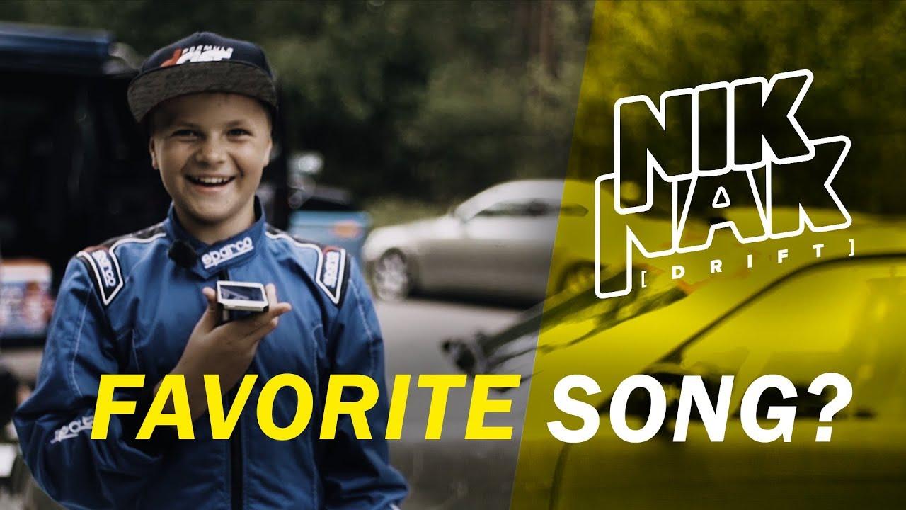 Ligero domingo Están familiarizados  NIK NAK (12 YEARS OLD DRIFTER) - FAVORITE SONG? (EP3 Teaser) - YouTube