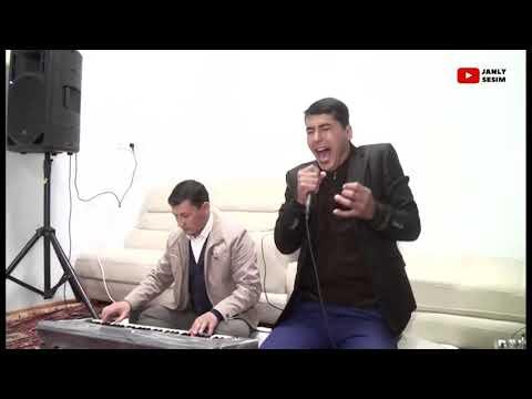 Nuryagdy Bekiyew Gurjunin Turkmen Halk Aydymlary live songs