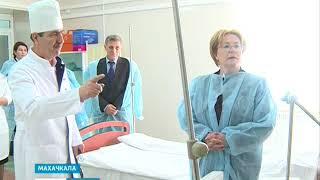 Вероника Скворцова посетила госпиталь ветеранов 06.03.2018 г.