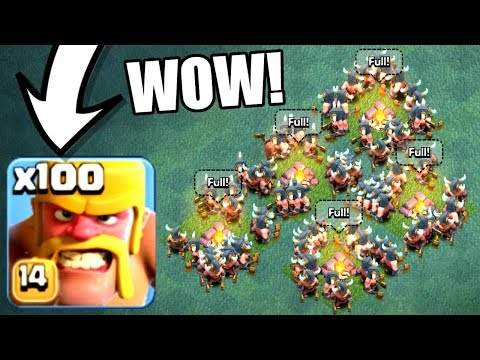 WORLD RECORD AMOUNT OF TROOPS IN THE BUILDERS BASE! - Clash Of Clans - NEW MAX LEVEL MASS GAME PLAY!