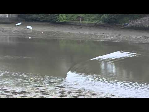Yealm Tidal Surge 27 June 2011 - Added Footage
