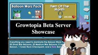 What's on Beta ? Growtopia Beta Server Showcase