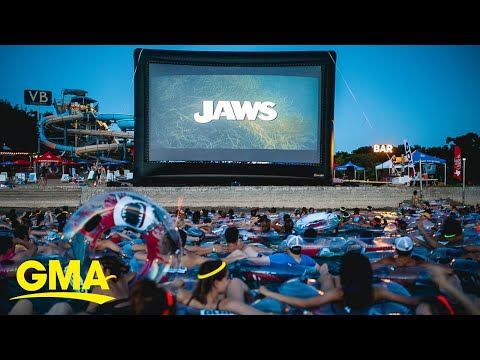 Aaron Michael - You can watch Jaws on the water while scuba divers tug on your TOES!