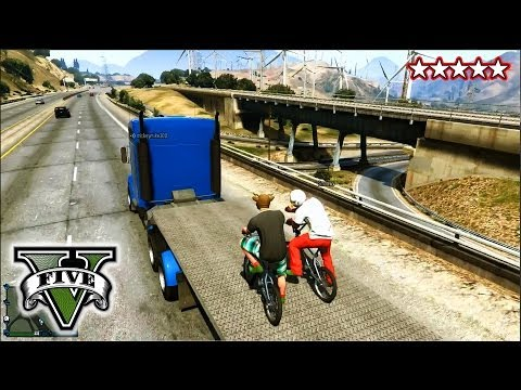 GTA 5 BMX Stunts and Jumps!!! - FreeRoaming With The CREW! - Grand Theft Auto 5