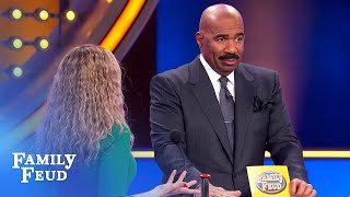 I wish I could grow a pair of... | Family Feud