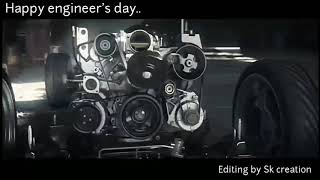 Engineer's day special -- design a car  || happy engineer's day whatsapp status ||