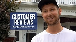 Budget Dumpster Customer Review  | House Cleanout