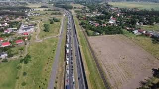 Zablokowana droga S3 pod Gorzowem