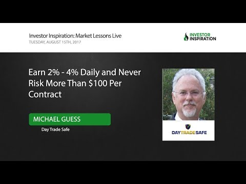 Earn 2% - 4% Daily and Never Risk More Than $100 Per Contract | Michael Guess