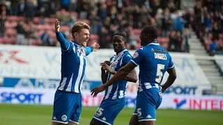 HIGHLIGHTS: Wigan Athletic 5 Colchester United 0