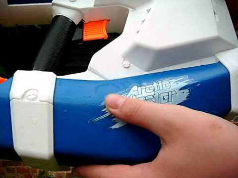 super soaker arctic blast review and test fire
