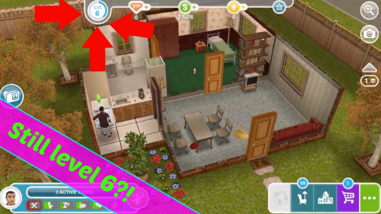 How many levels are in sims free play - The Sims FreePlay Questions