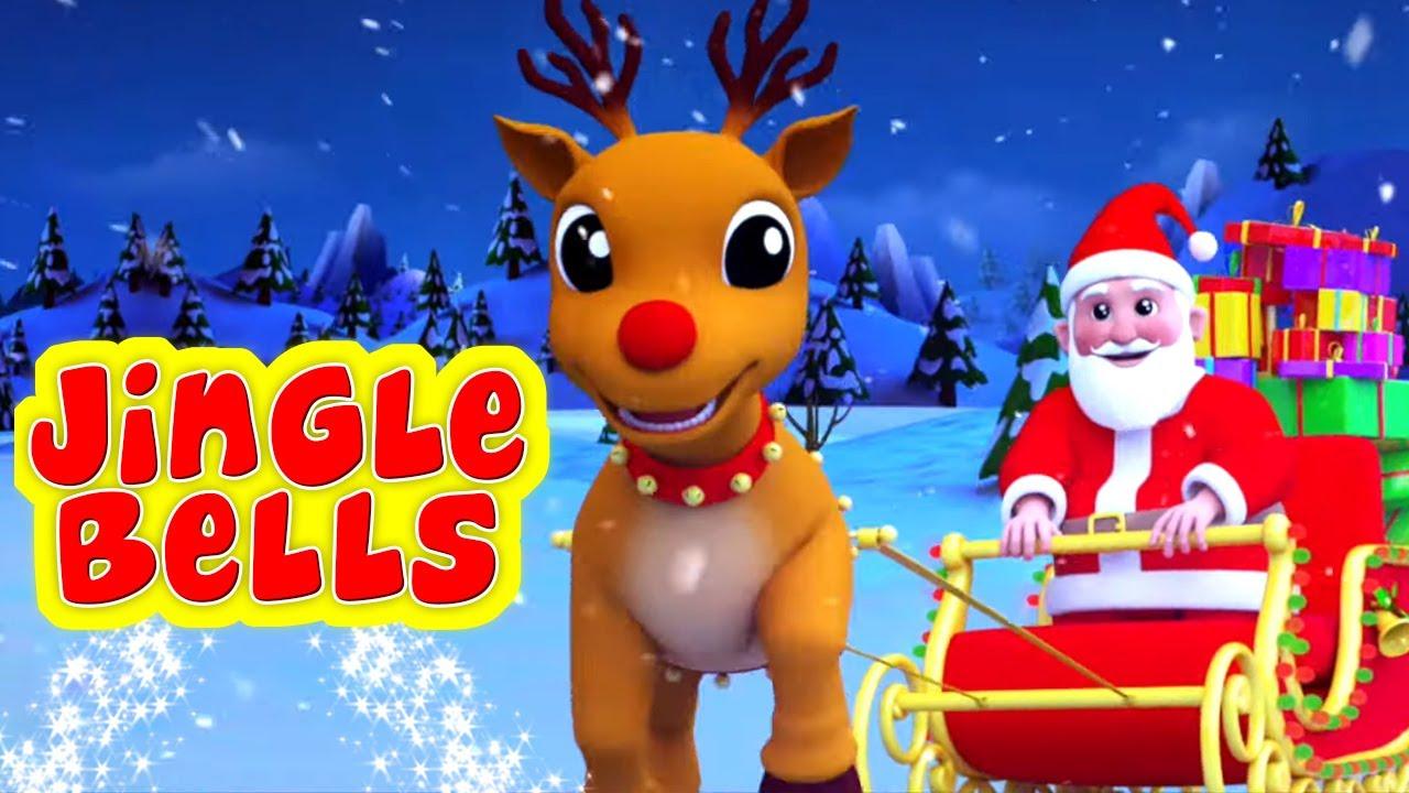Jingle Bells Hindi Rhyme | Nursery Rhymes In Hindi | जिंगल बेल | Hindi Christmas Song | Hindi ...
