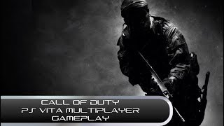Call of Duty: Black Ops Declassified (PS Vita Multiplayer Gameplay)