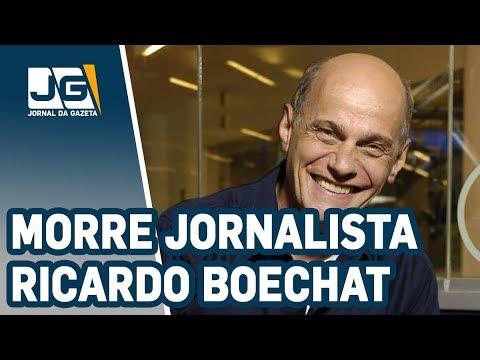 Jornalista Ricardo Boechat morre em queda de helicóptero