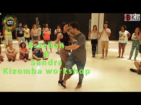 ESTEBAN & SANDRA Kizomba Workshop AFROFESTIVAL COSTA DEL SOL 2016 Congress