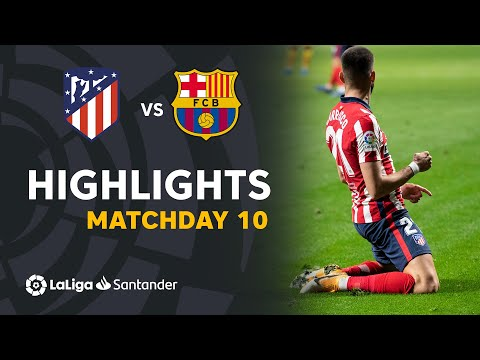 Atletico Madrid Barcelona Goals And Highlights