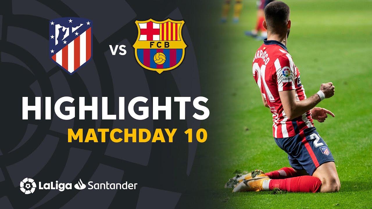 Download Highlights Atletico Madrid vs FC Barcelona (1-0)