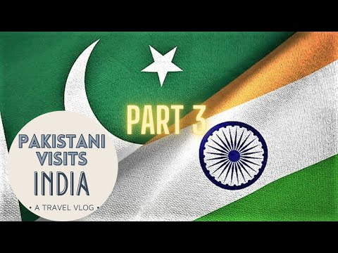 Pakistani's First Day in India – January 2020 #respect