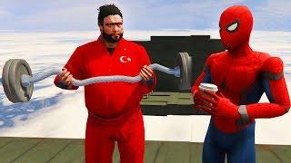 Şimşek ve Örümcek Recep İvedik'i Sonsuz Merdivene Götürüyor (GTA 5 Komik Anlar)