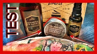 Pand Drwal - Cologne & Steam Punk Tattoo Butter - Test, Recenzja, Unbboxing