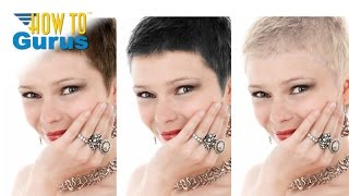 how to change hair color in a portrait in adobe photoshop elements 15 14 13 12 11 tutorial