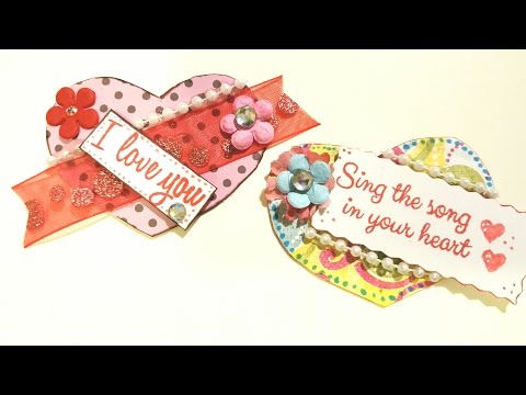 DT Valentine Heart Embellishments - Maymay Made It Design Team