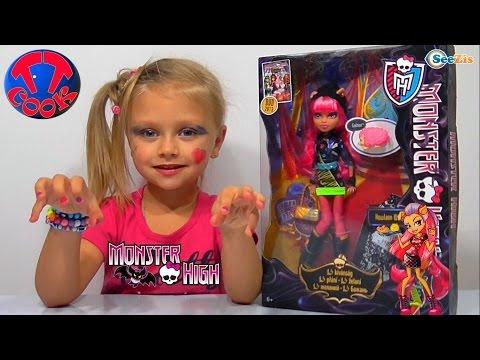 ✔ Кукла Монстер Хай. Ярослава распаковывает новую Игрушку / Monster High Howleen Wolf Doll. VLOG ✔