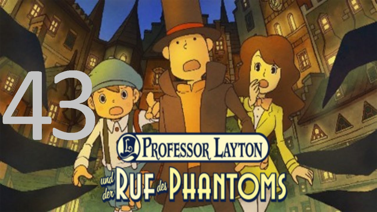 Let's Play Professor Layton und der Ruf des Phantoms (Part ...