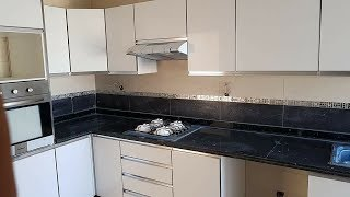 شقة كبيرة للبيع مساحتها 114م فيها 3غرف +صالون+مطبخ بالبالكون+2حمامات (سلا الجديدة)