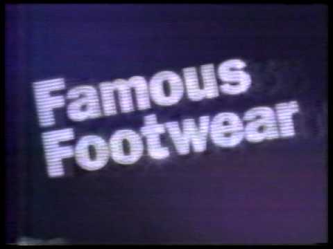 1994 Famous Footwear Christmas Ad