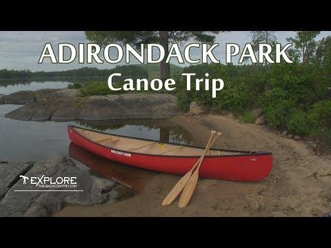 Adirondack Park Canoe Trip
