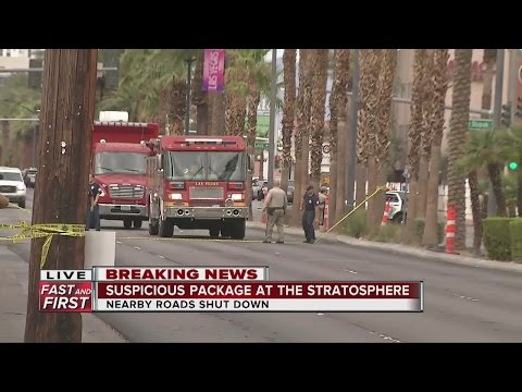 Evacuation At Stratosphere Hotel-casino Because Of Package
