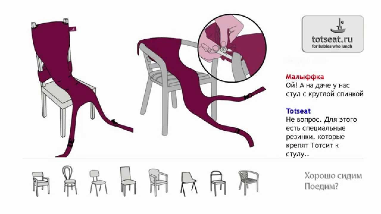 Как сшить дорожный детский стульчик фото 32