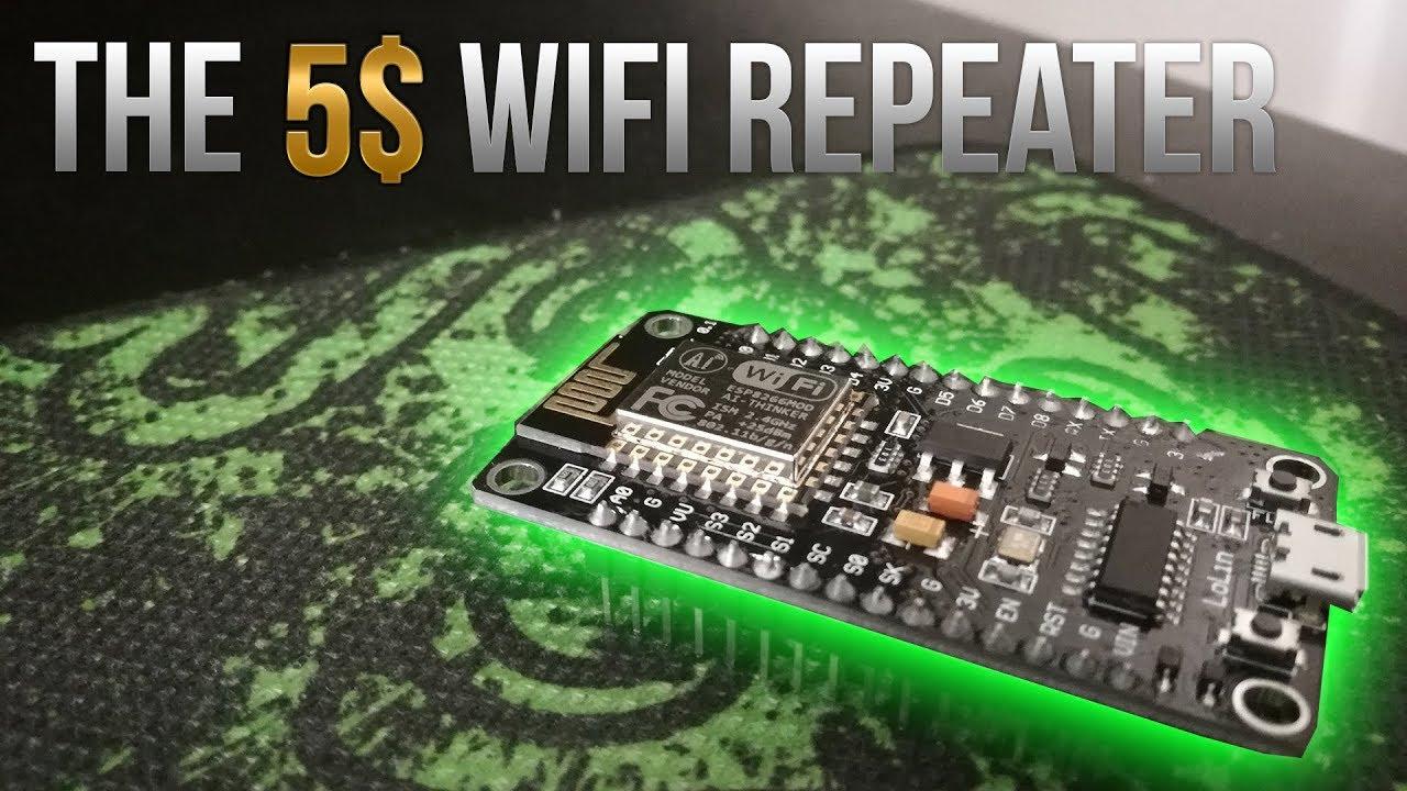 The 5$ WiFi Range Extender