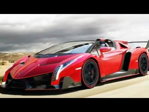 2017 Lamborghini Veneno Roadster Luxury Design