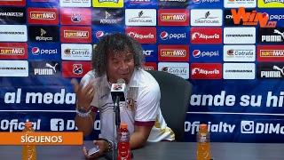 Habla Alberto Gamero, técnico de Tolima